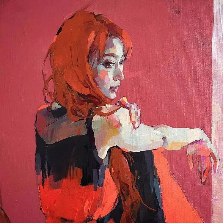 惊艳的马赛克画风,她将女人的柔美与绚烂,表现的淋漓尽致插图28
