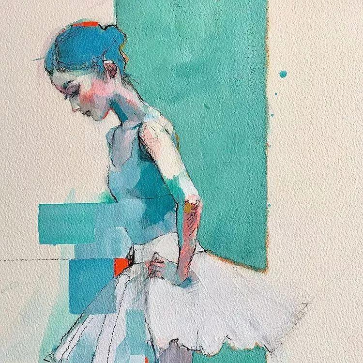 惊艳的马赛克画风,她将女人的柔美与绚烂,表现的淋漓尽致插图29