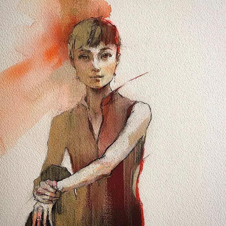惊艳的马赛克画风,她将女人的柔美与绚烂,表现的淋漓尽致插图31