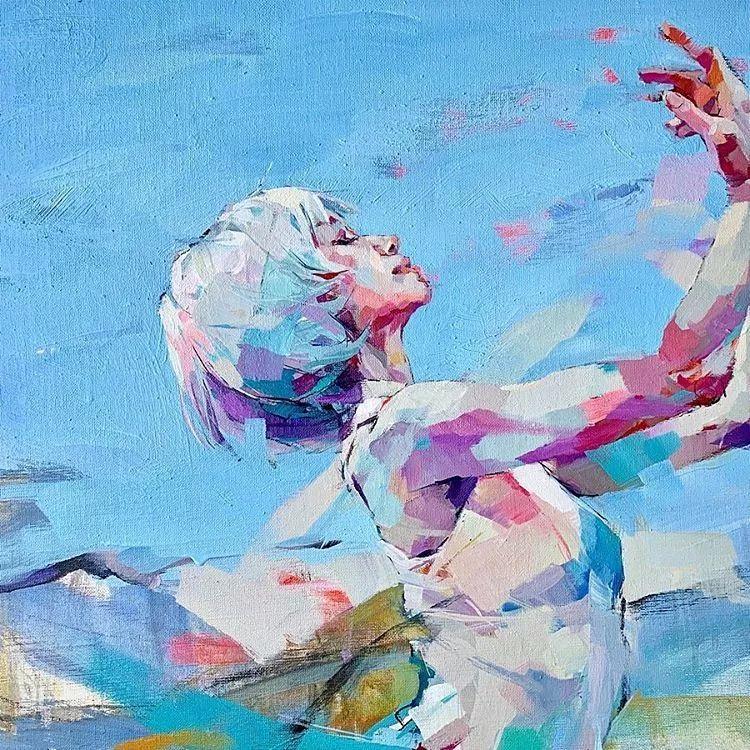 惊艳的马赛克画风,她将女人的柔美与绚烂,表现的淋漓尽致插图32