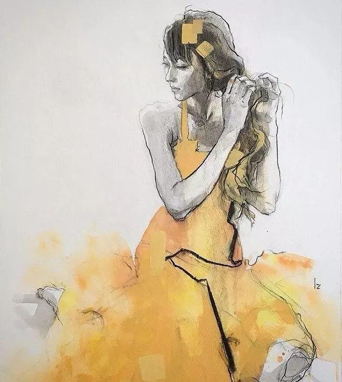 惊艳的马赛克画风,她将女人的柔美与绚烂,表现的淋漓尽致插图33