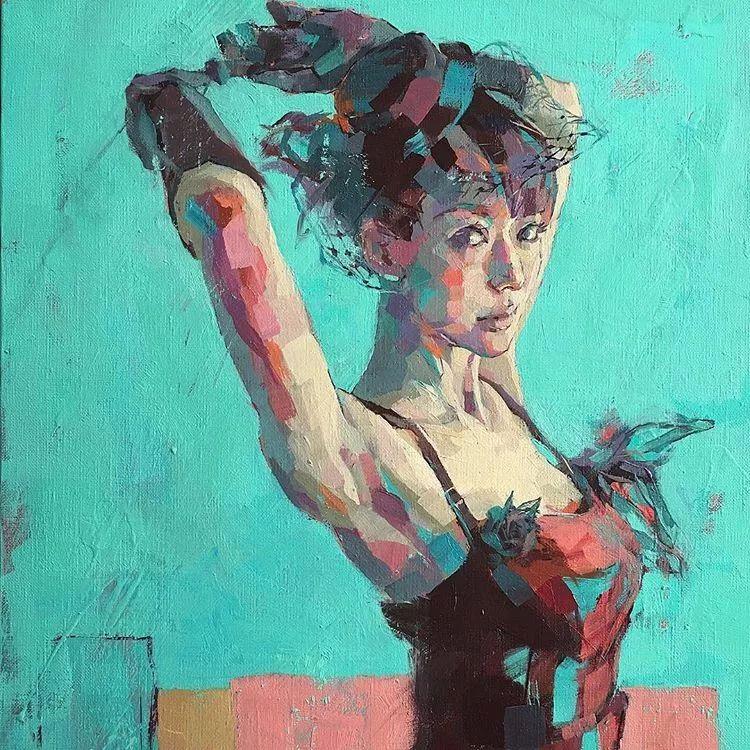 惊艳的马赛克画风,她将女人的柔美与绚烂,表现的淋漓尽致插图34
