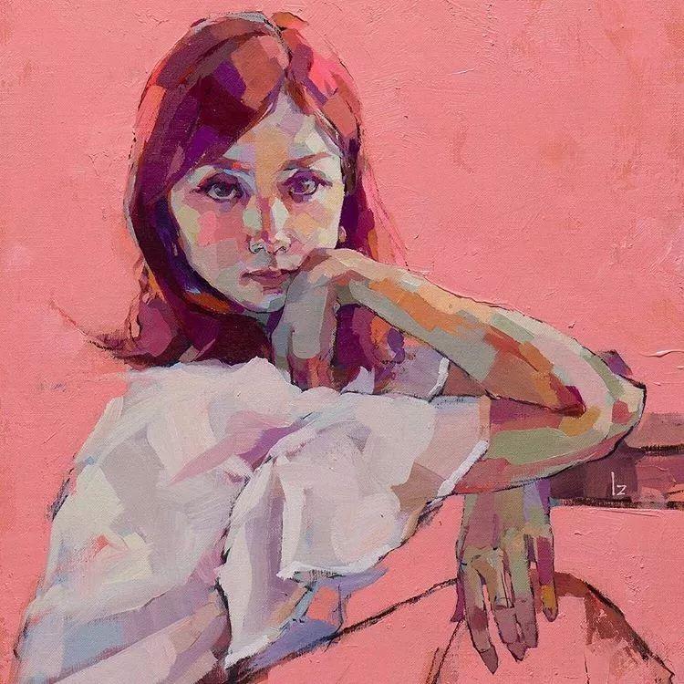 惊艳的马赛克画风,她将女人的柔美与绚烂,表现的淋漓尽致插图35