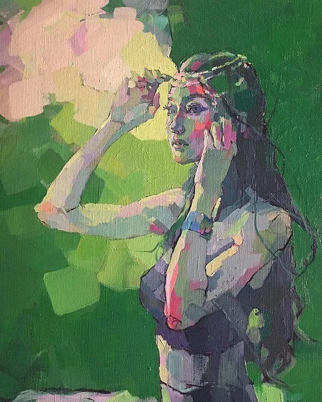 惊艳的马赛克画风,她将女人的柔美与绚烂,表现的淋漓尽致插图37