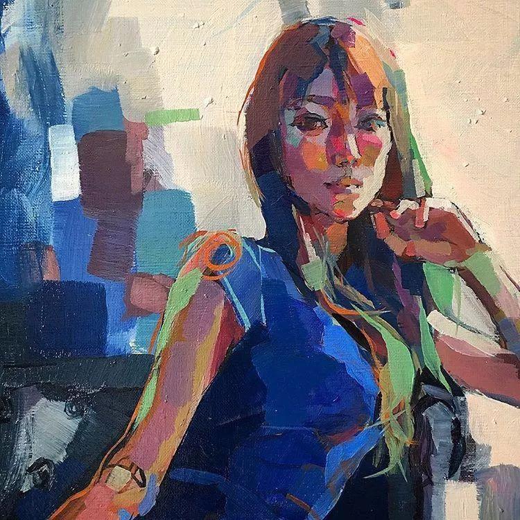 惊艳的马赛克画风,她将女人的柔美与绚烂,表现的淋漓尽致插图39