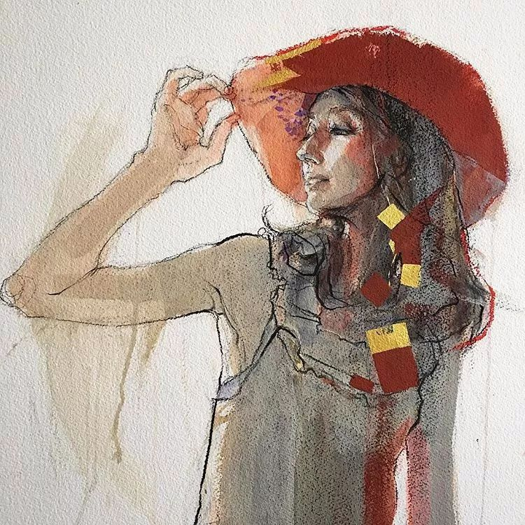 惊艳的马赛克画风,她将女人的柔美与绚烂,表现的淋漓尽致插图40