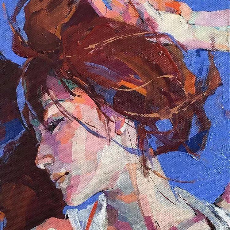 惊艳的马赛克画风,她将女人的柔美与绚烂,表现的淋漓尽致插图41