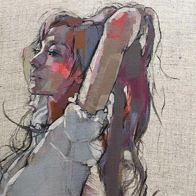 惊艳的马赛克画风,她将女人的柔美与绚烂,表现的淋漓尽致插图42