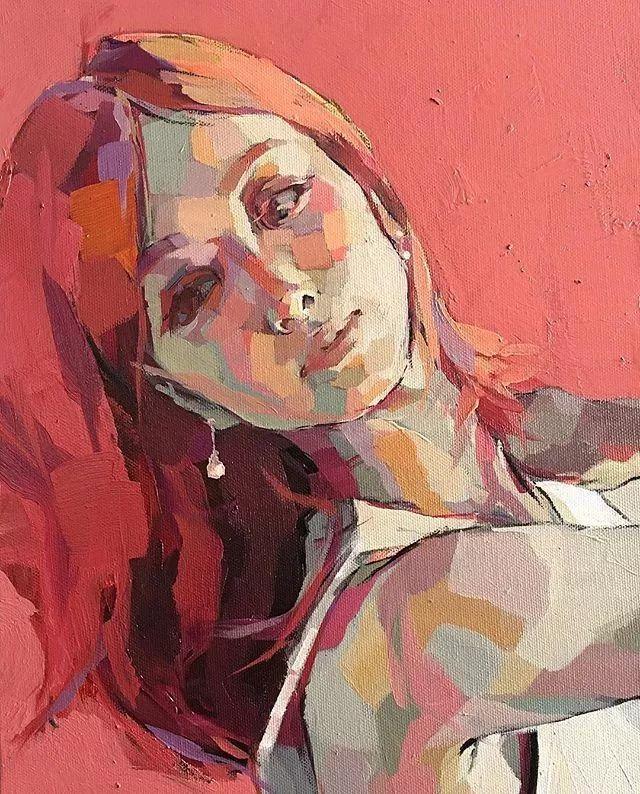 惊艳的马赛克画风,她将女人的柔美与绚烂,表现的淋漓尽致插图43