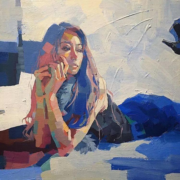 惊艳的马赛克画风,她将女人的柔美与绚烂,表现的淋漓尽致插图44