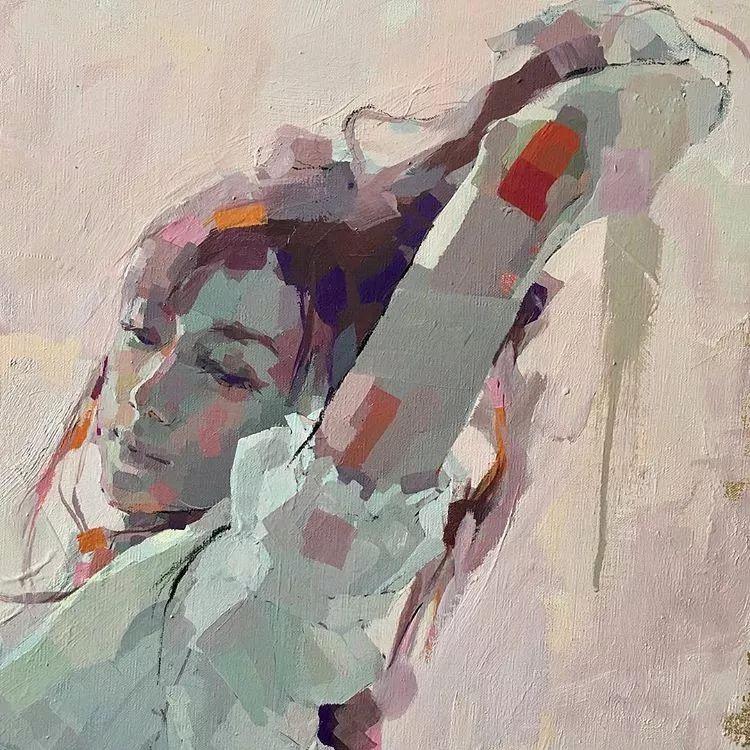 惊艳的马赛克画风,她将女人的柔美与绚烂,表现的淋漓尽致插图45