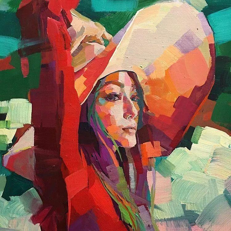 惊艳的马赛克画风,她将女人的柔美与绚烂,表现的淋漓尽致插图46