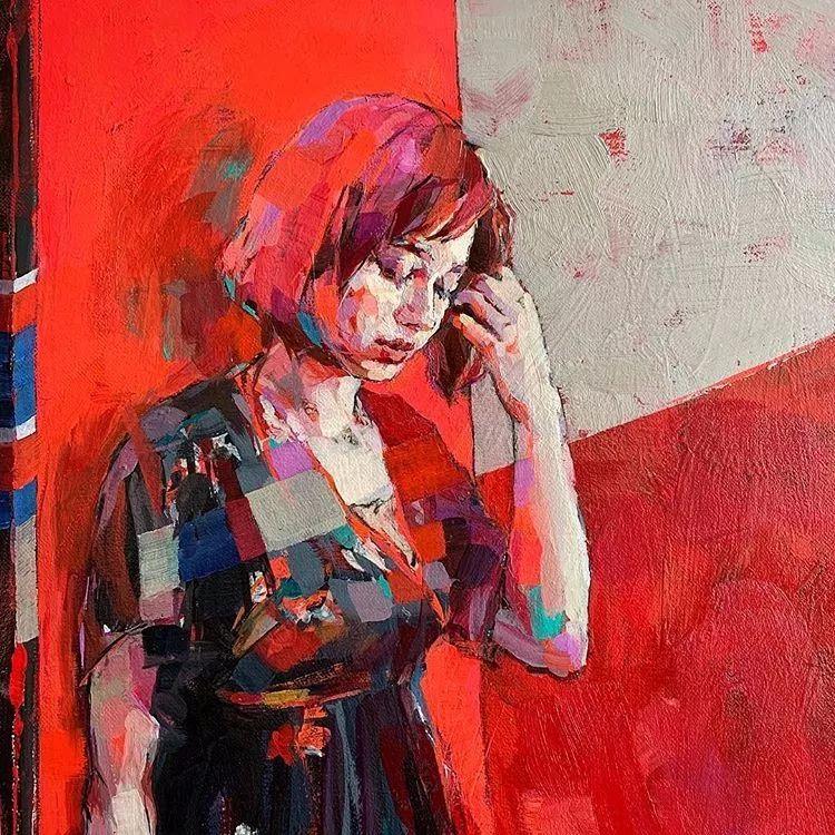 惊艳的马赛克画风,她将女人的柔美与绚烂,表现的淋漓尽致插图47