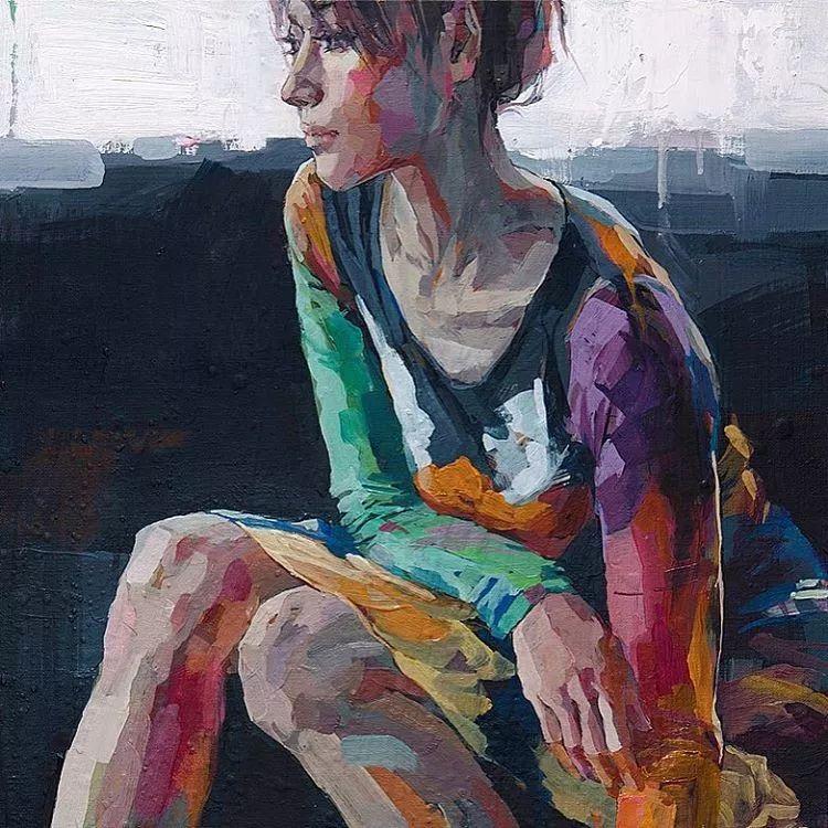 惊艳的马赛克画风,她将女人的柔美与绚烂,表现的淋漓尽致插图48