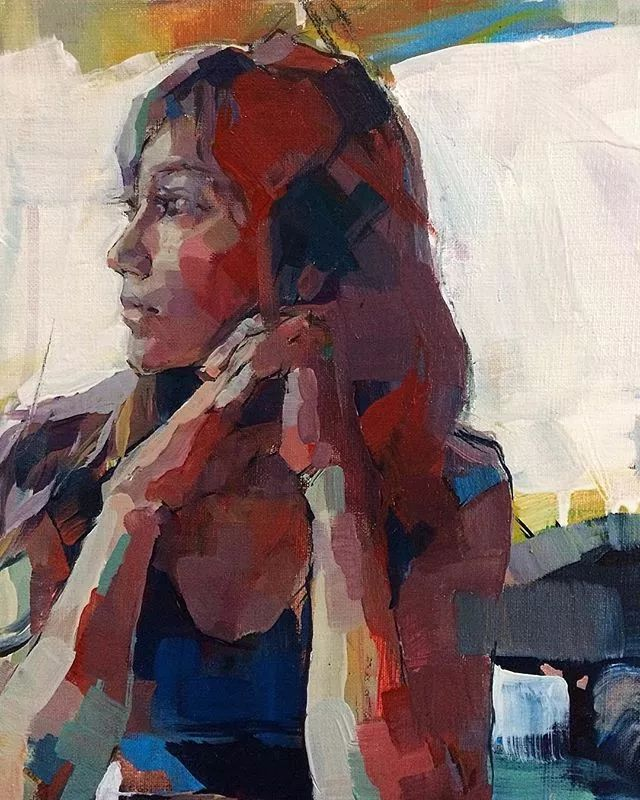 惊艳的马赛克画风,她将女人的柔美与绚烂,表现的淋漓尽致插图49