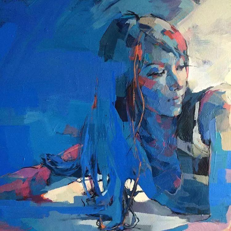 惊艳的马赛克画风,她将女人的柔美与绚烂,表现的淋漓尽致插图50