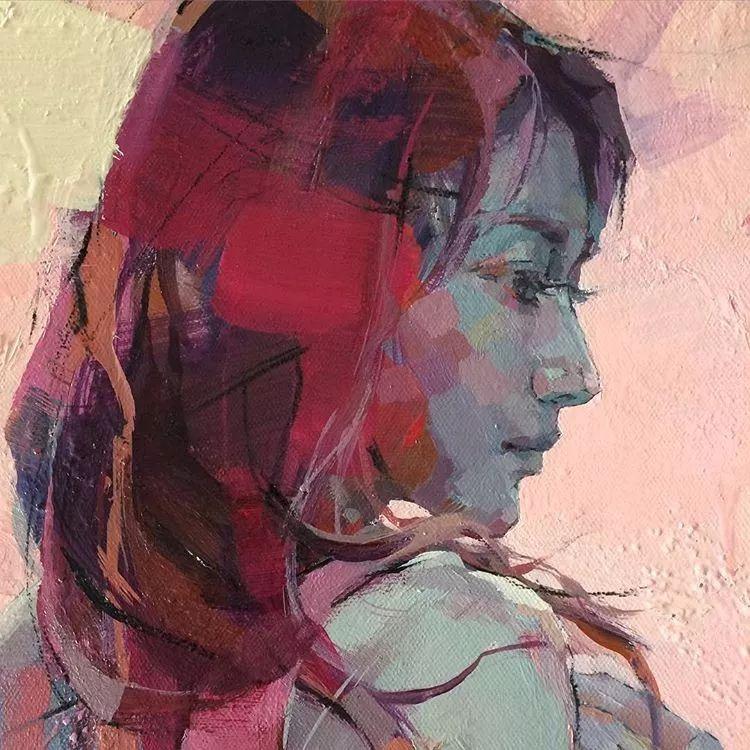 惊艳的马赛克画风,她将女人的柔美与绚烂,表现的淋漓尽致插图51
