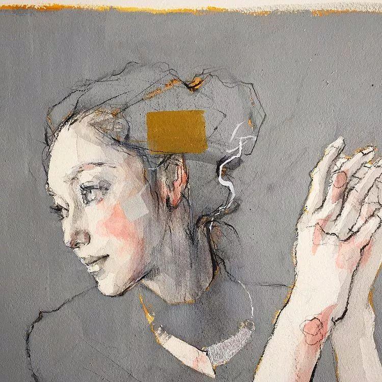 惊艳的马赛克画风,她将女人的柔美与绚烂,表现的淋漓尽致插图52