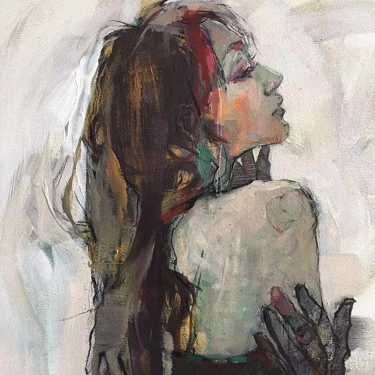 惊艳的马赛克画风,她将女人的柔美与绚烂,表现的淋漓尽致插图53