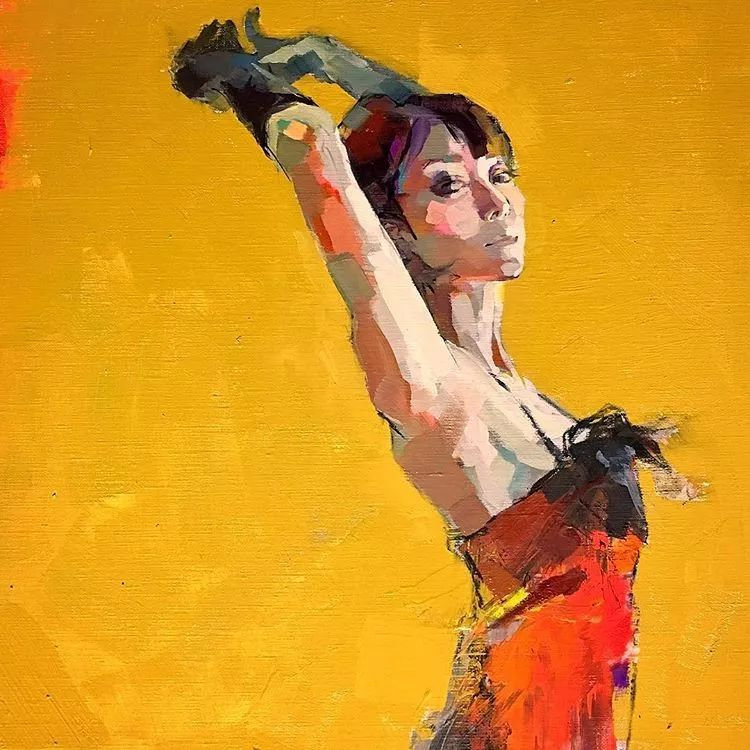 惊艳的马赛克画风,她将女人的柔美与绚烂,表现的淋漓尽致插图54