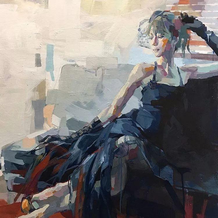 惊艳的马赛克画风,她将女人的柔美与绚烂,表现的淋漓尽致插图55