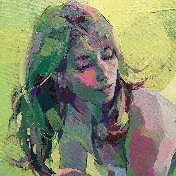惊艳的马赛克画风,她将女人的柔美与绚烂,表现的淋漓尽致插图56