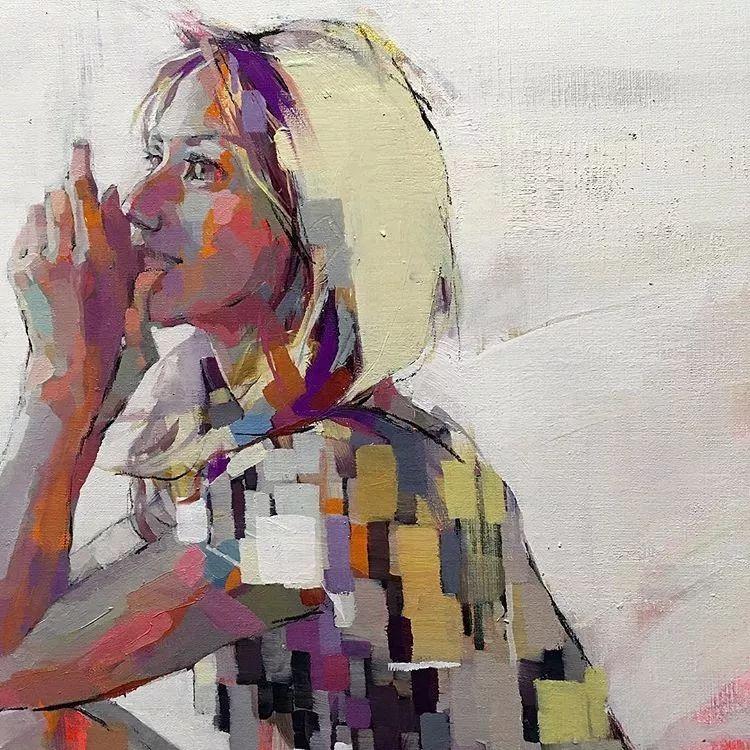 惊艳的马赛克画风,她将女人的柔美与绚烂,表现的淋漓尽致插图57