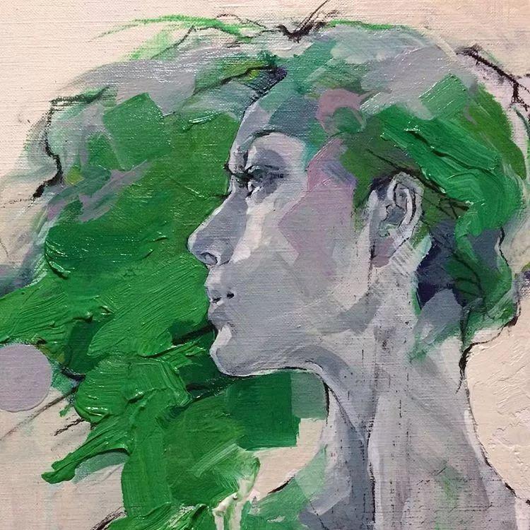 惊艳的马赛克画风,她将女人的柔美与绚烂,表现的淋漓尽致插图58