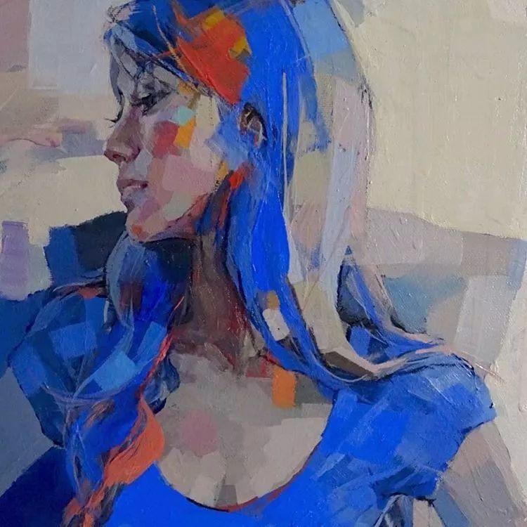 惊艳的马赛克画风,她将女人的柔美与绚烂,表现的淋漓尽致插图59