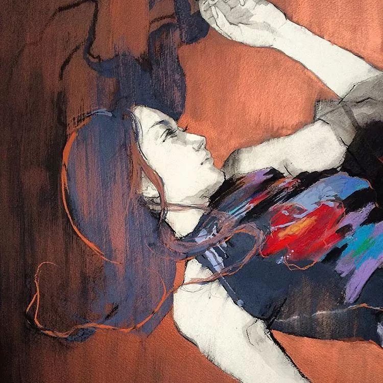 惊艳的马赛克画风,她将女人的柔美与绚烂,表现的淋漓尽致插图60