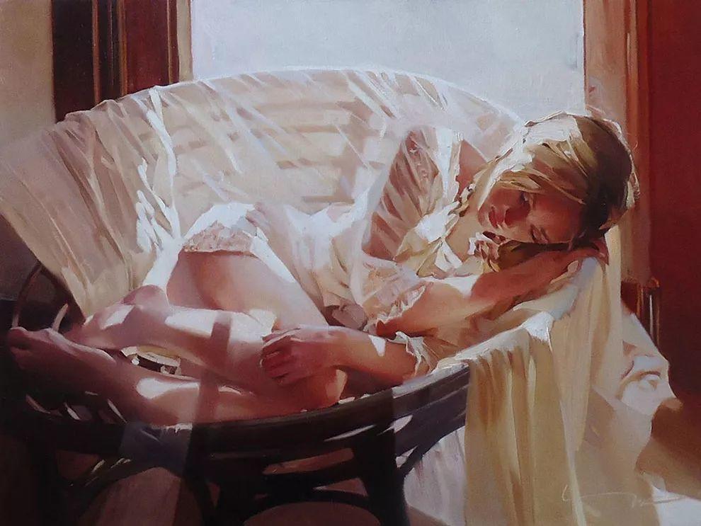 色光之美,俄罗斯画家Alexey Chernigin插图