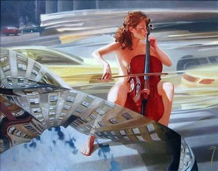 色光之美,俄罗斯画家Alexey Chernigin插图32