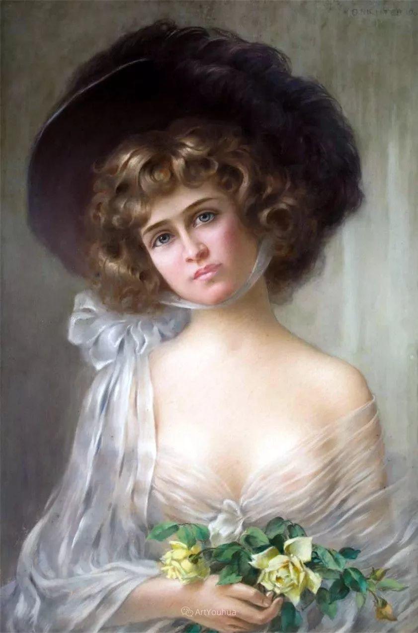 法国画家油画中的仙女,身披薄纱,性感迷人!插图12