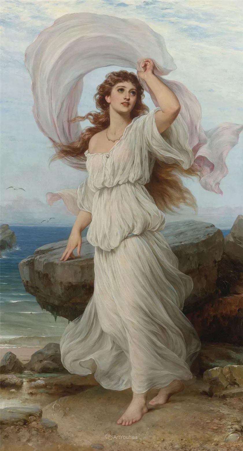 法国画家油画中的仙女,身披薄纱,性感迷人!插图13