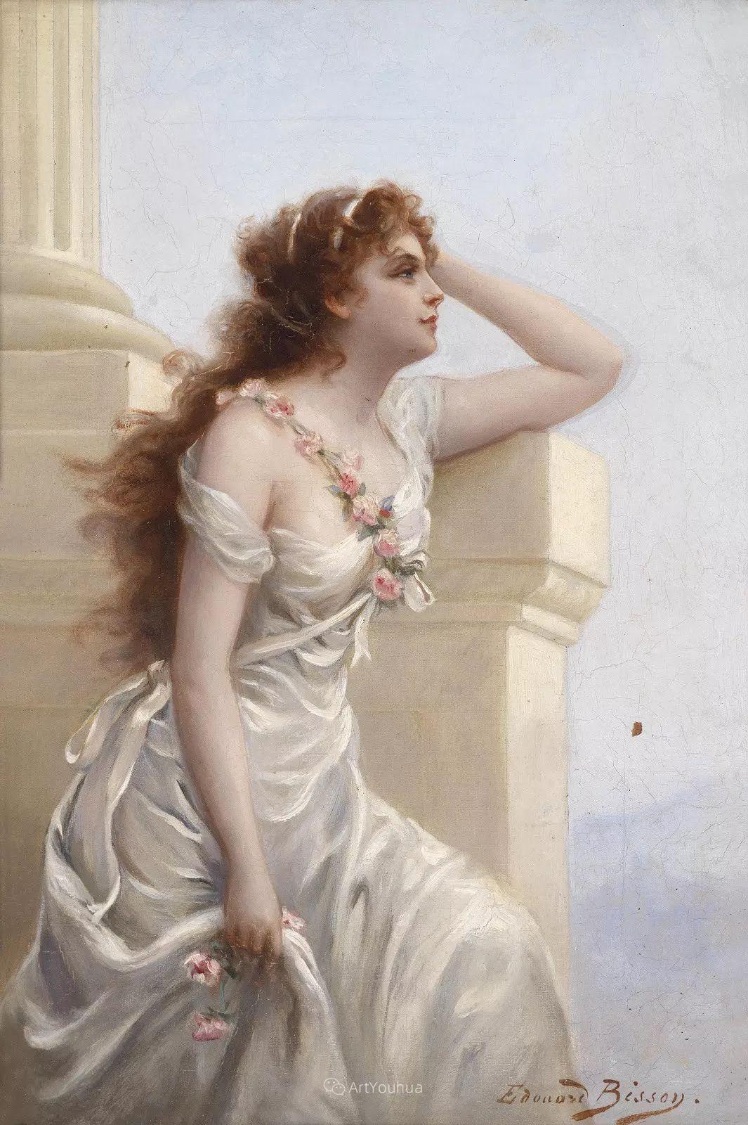 法国画家油画中的仙女,身披薄纱,性感迷人!插图14