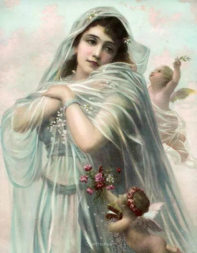 法国画家油画中的仙女,身披薄纱,性感迷人!插图16