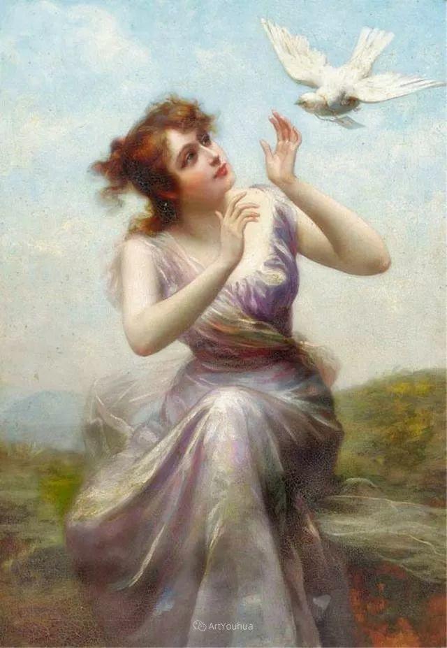 法国画家油画中的仙女,身披薄纱,性感迷人!插图19