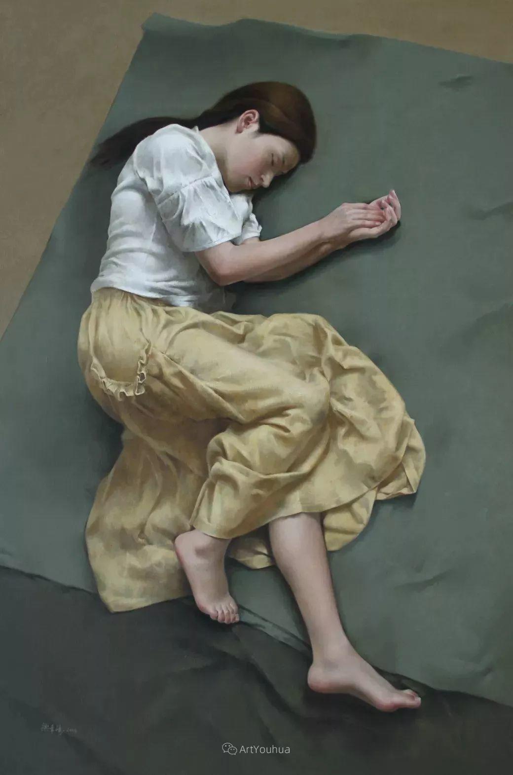 温暖而充满内在的情绪之美,梁华涛作品欣赏插图2