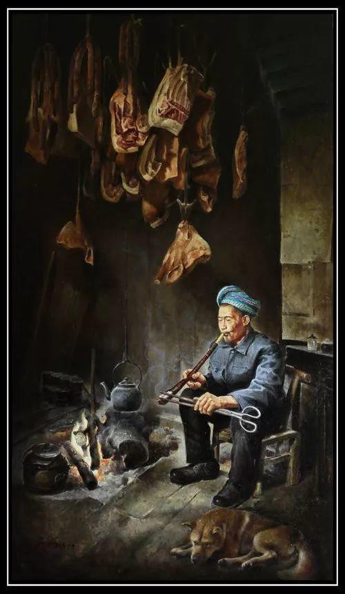 温暖而充满内在的情绪之美,梁华涛作品欣赏插图7