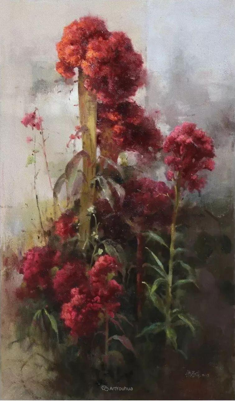 温暖而充满内在的情绪之美,梁华涛作品欣赏插图28