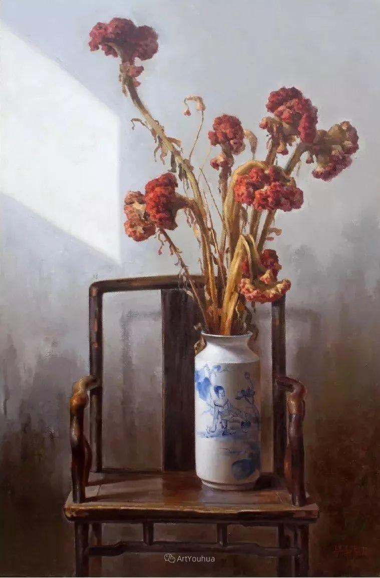 温暖而充满内在的情绪之美,梁华涛作品欣赏插图30