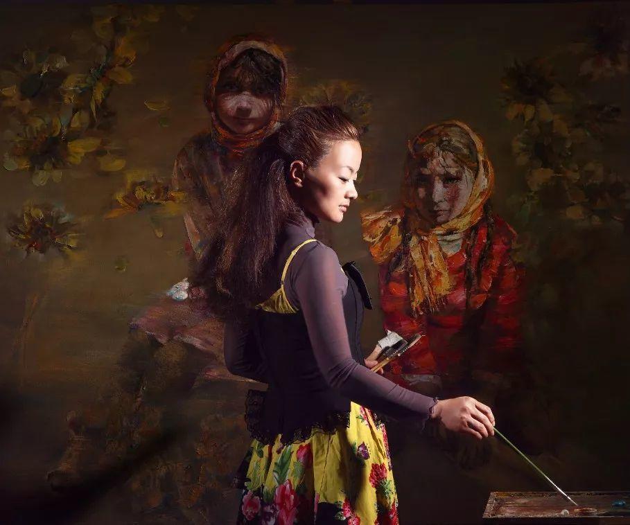 从高原到草原 丝路绽放——燕娅娅油画作品展插图