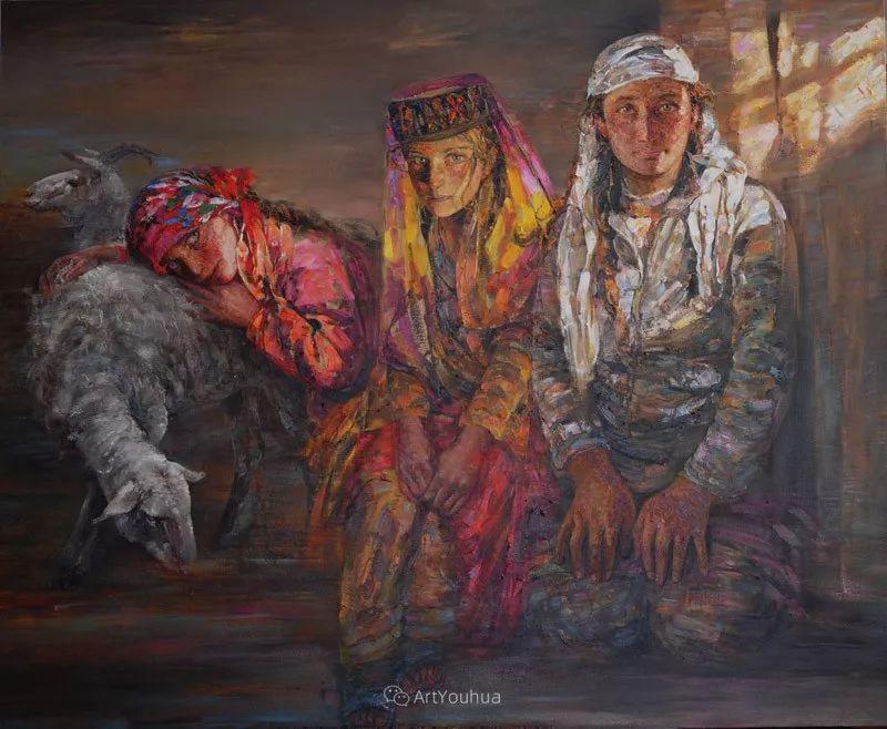 从高原到草原 丝路绽放——燕娅娅油画作品展插图24