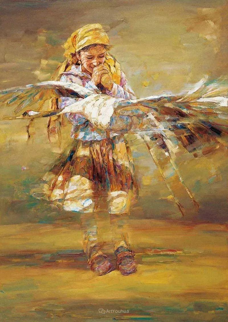 从高原到草原 丝路绽放——燕娅娅油画作品展插图26