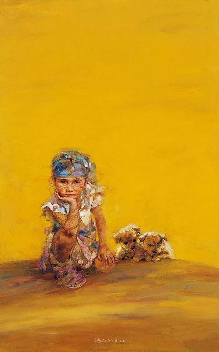 从高原到草原 丝路绽放——燕娅娅油画作品展插图27