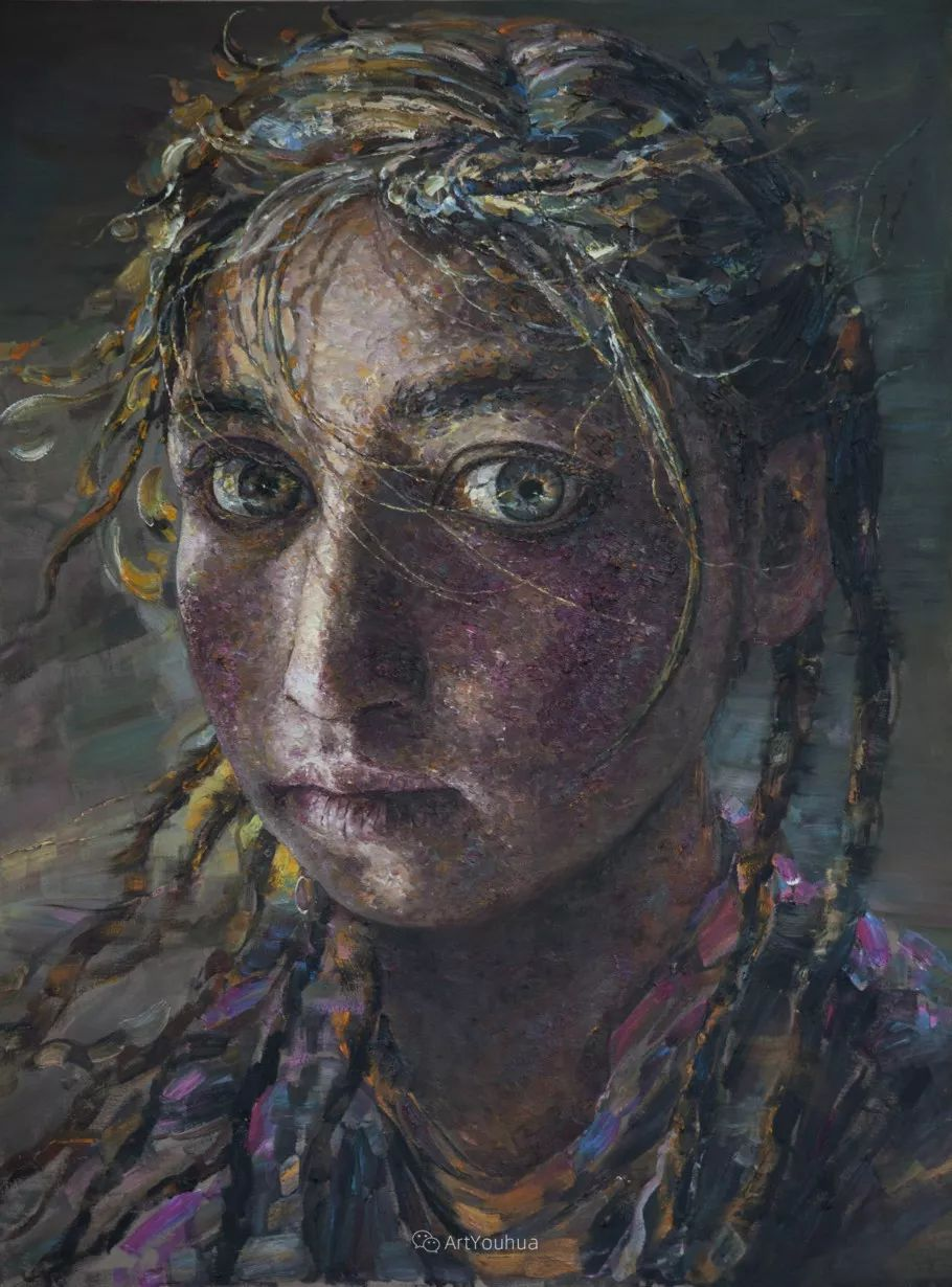 从高原到草原 丝路绽放——燕娅娅油画作品展插图30