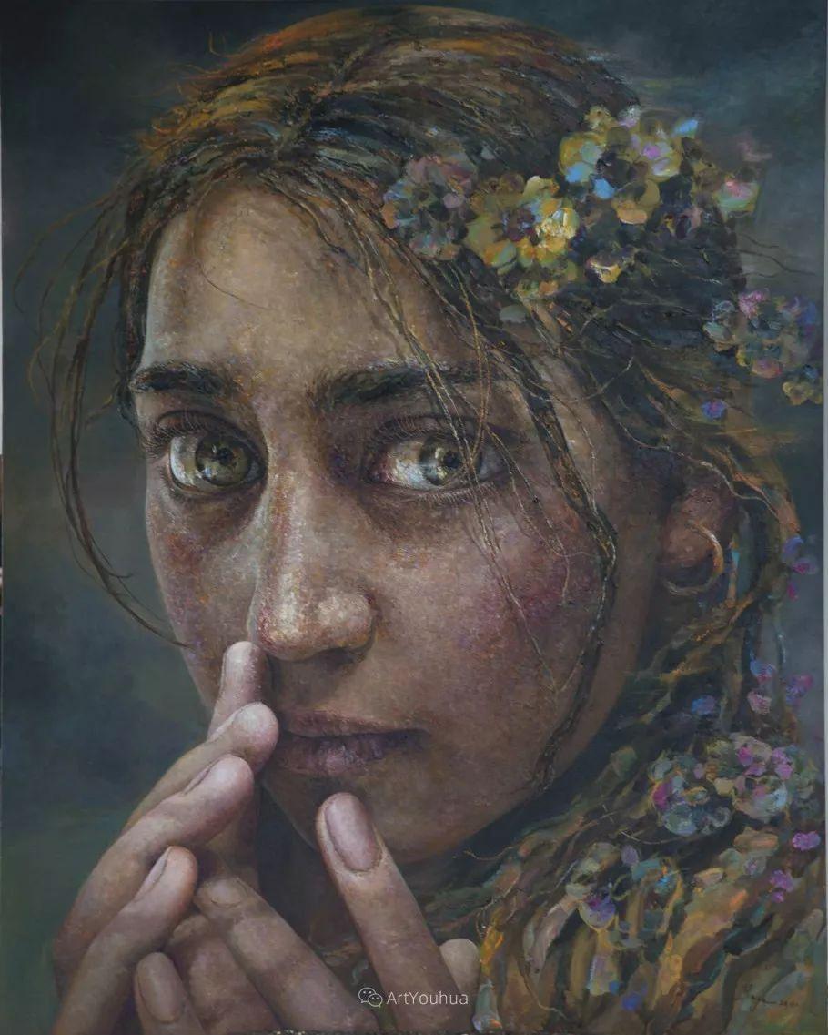 从高原到草原 丝路绽放——燕娅娅油画作品展插图31