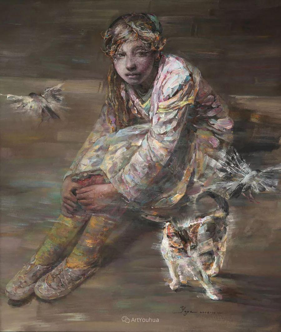 从高原到草原 丝路绽放——燕娅娅油画作品展插图32