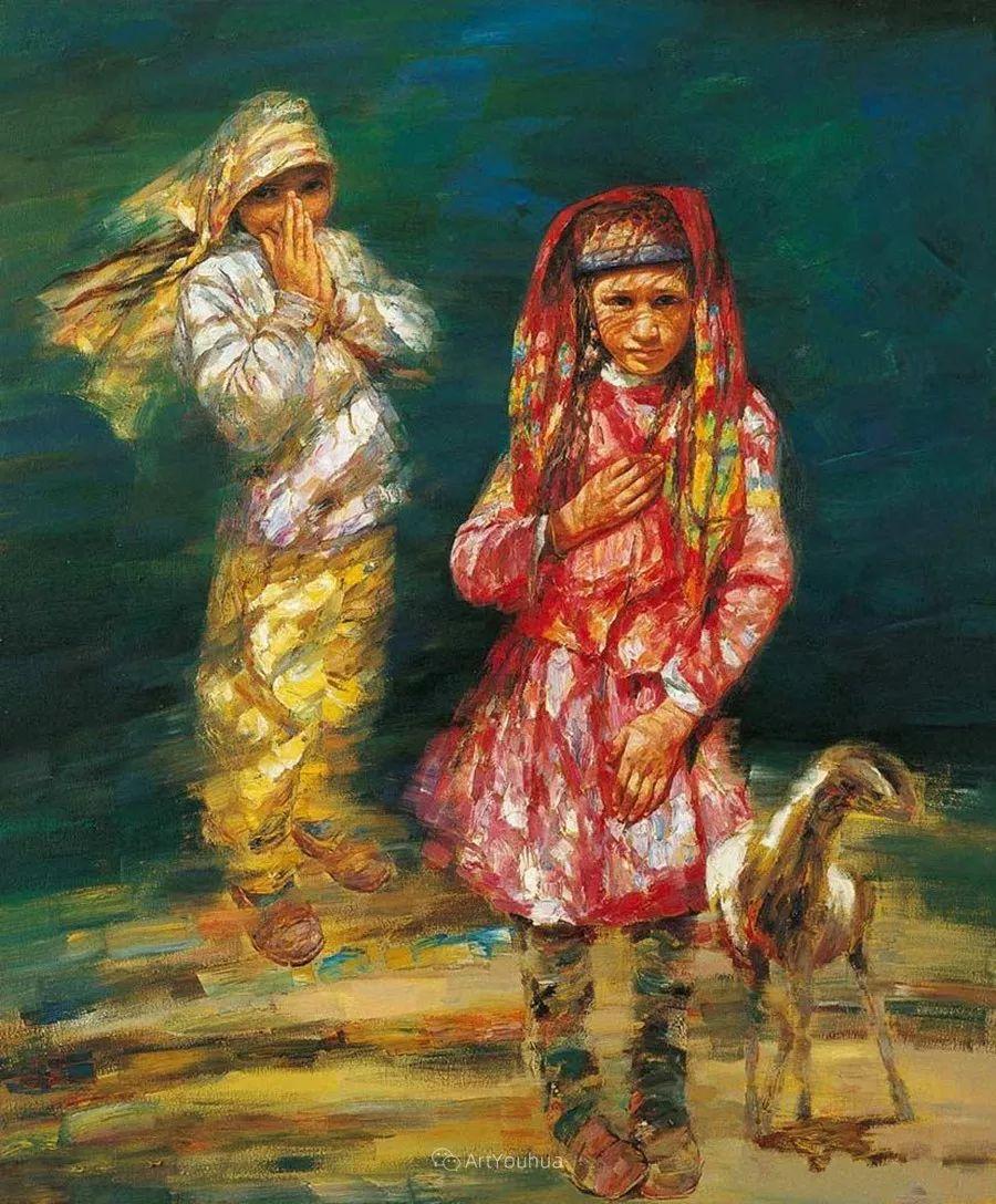 从高原到草原 丝路绽放——燕娅娅油画作品展插图33