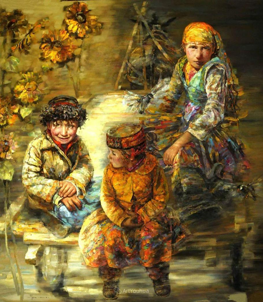 从高原到草原 丝路绽放——燕娅娅油画作品展插图34